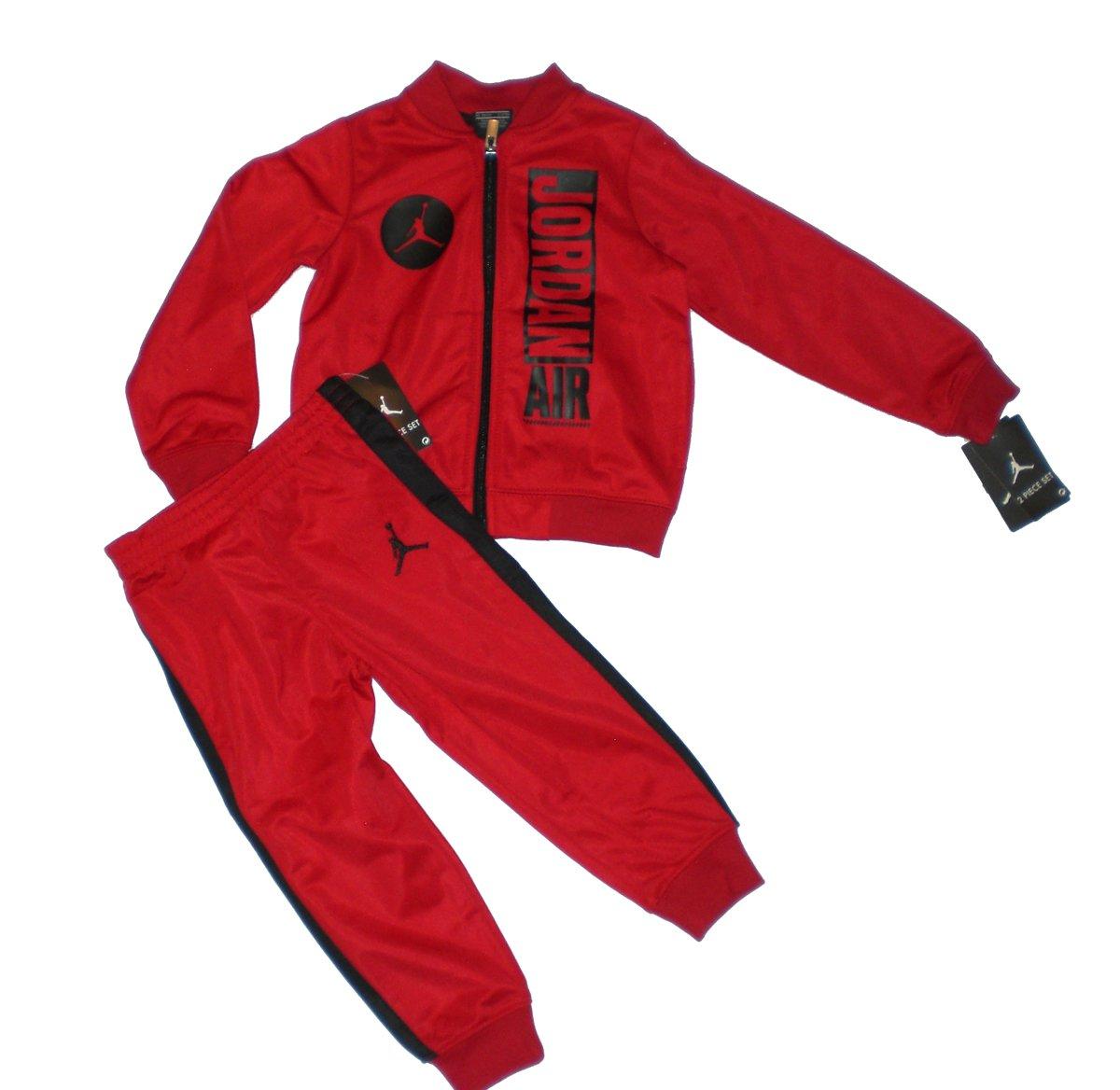 Nike Jordan Jumpman Boy Jacket Tracksuit Pants Outfit Set, Size 4