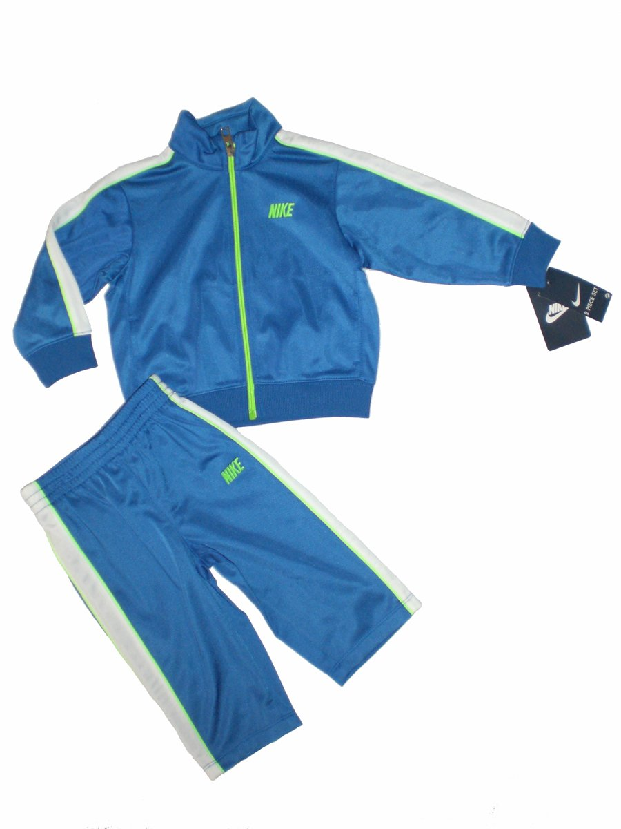 Nike Baby Jacket Tracksuit Pants Outfit Set, Size 12 Months