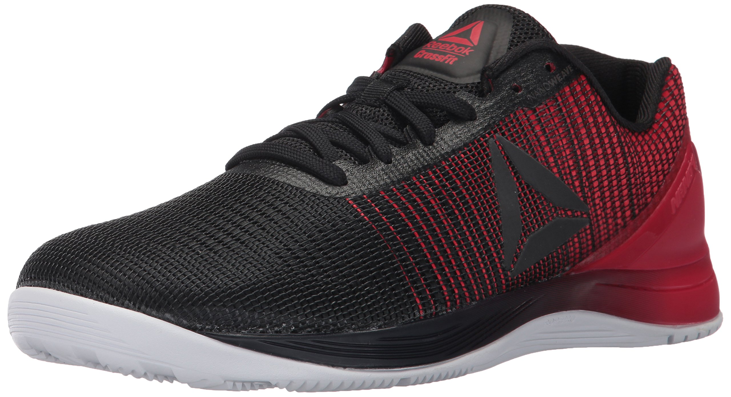 Reebok Men's Crossfit Nano 7.0 Cross-Trainer Shoe, Black/White/Primal Red, 11 M US