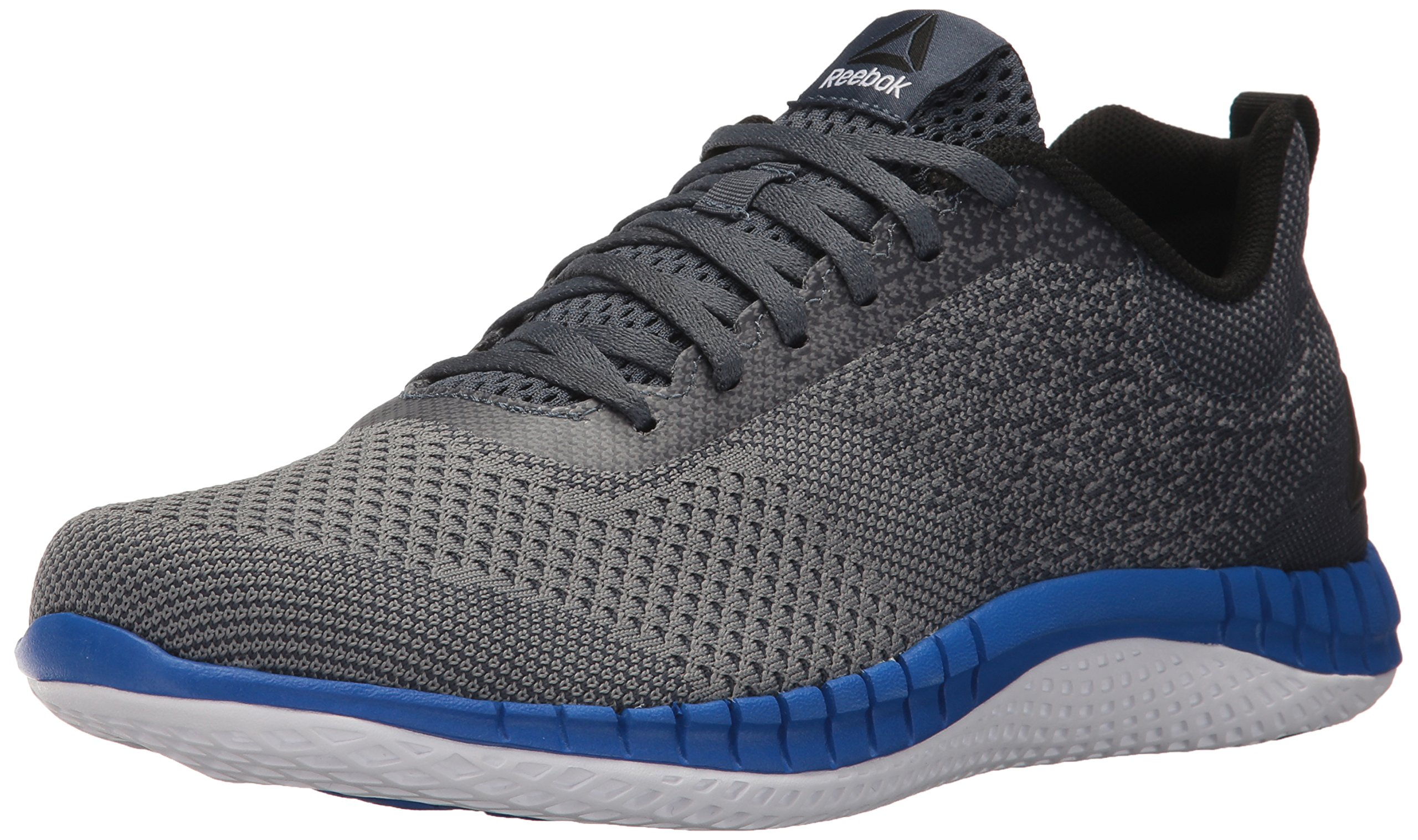 Reebok Men's Print Prime Ultk Running Shoe, Asteroid Dust/Smoky Indigo/White/Black/Vital Blue, 11 M US