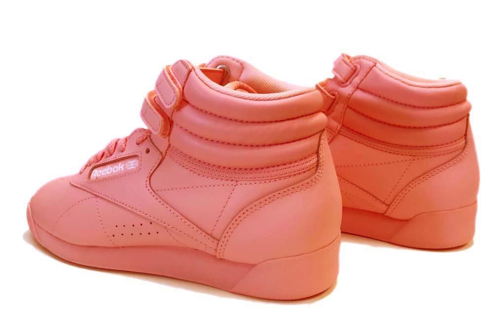 Reebok Women's F/S Hi Colors Sneaker, Squad Pink/White, 9 M US