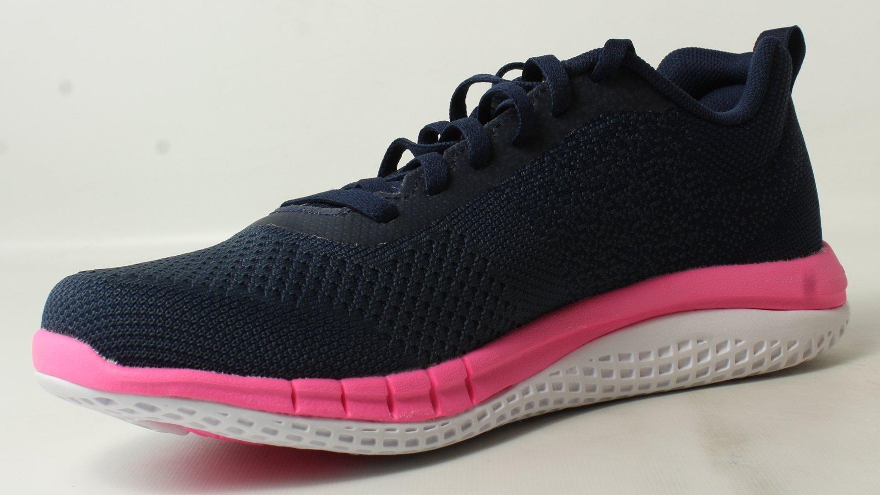 Reebok Women's Rbk Print Run Prime Ultk Sneaker, Avon-Coll Navy/Small Indigo, 9 M US